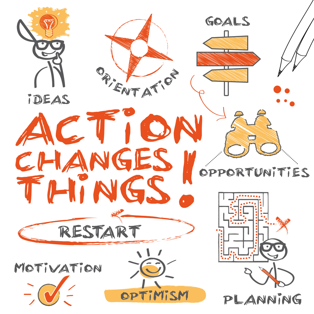 Action changes things