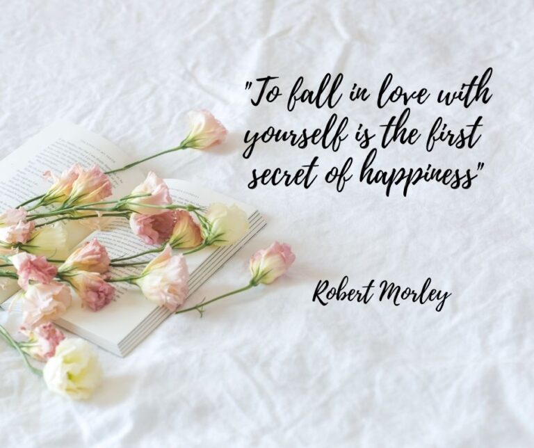 To-fall-in-love-with-yourself-is-the-first-secret-of-happiness